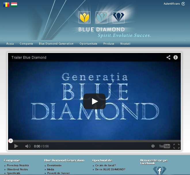 Oportunitate Blue Diamond