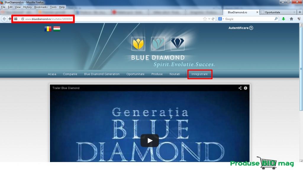 produsebiomag ro inregistrare blue diamond produse bio cod